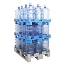 Паллет для перевозки 48 бутылей 19л