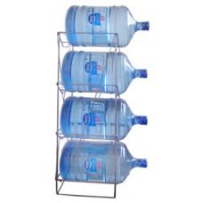 Цельносварная стойка для 4-х бутылей