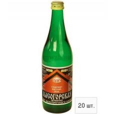 Лысогорская лечебная минеральная вода 0,5л стекло (20 бутылок)